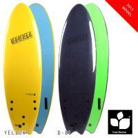 大人から子供まで安全に、サーフィンを楽しめます!!  サーフボード全体がスポンジで出来ていて、柔らか...