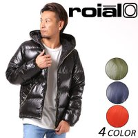 【roial】ロイアルのメンズダウンジャケット。 毎年大人気の軽量ダウンジャケット☆ 軽量で保温性が...