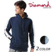 【Diamond Supply Co.】ダイヤモンド サプライから、 両袖にラインを配したスポーティ...