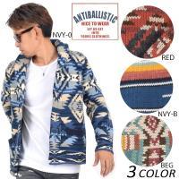 【ANTIBALLISTIC】アンティバルリスティックのメンズセーター。 大人気のショールカラーセー...