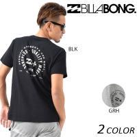 【BILLABONG】ビラボンのメンズ半袖Tシャツ。 環境保護を考えたリサイクル生地、 「RICOV...