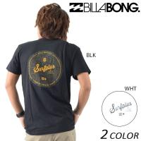【BILLABONG】ビラボンのメンズ半袖Tシャツ。 環境保護を考えたリサイクル生地RICOVERT...