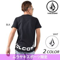 【VOLCOM】ボルコムのメンズ半袖Tシャツ。 フロントにブランドの象徴的なアイコンとして人気の ボ...