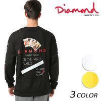 【Diamond Supply Co.】ダイヤモンド サプライメンズ長袖Tシャツ。 アメリカ西海岸を...
