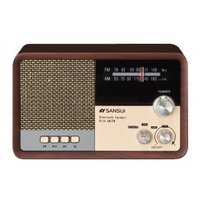 SANSUI/サンスイ  【台数限定】MSR-1 WD(ウッド) Bluetooth ラジオスピーカー