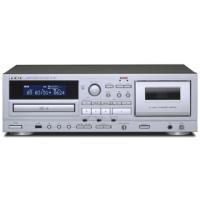 AD850 USBメモリーによる録音・再生に対応した、カセットデッキとCDプレーヤーの複合機