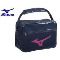 mizuno/ミズノ  33JS8212-14 エナメルバッグL 【L45×W20×H32cm】 (ネイビー×マゼンタ)