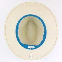 麦わら帽子 inverni インヴェルニ フェルトハット 中折れ帽 レディース メンズ 3万5640 リボン 大きいサイズ ウール UV ブランド 春夏 ホワイト 60 あすつく