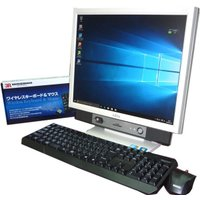 送料無料 3カ月保証 液晶一体型パソコン 富士通 FMV K5290 17型 Windows10 C...