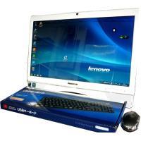 送料無料 3カ月保証 中古液晶一体型パソコン lenovo 3000 C 305 20型W光沢 Wi...