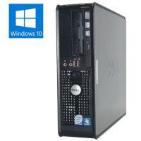 送料無料 3か月保証 中古デスクトップパソコン DELL OPTILEX 760 省スペース型 Wi...