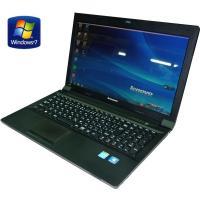 送料無料 3か月保証 中古ノートパソコン lenovo B590 15.6型W光沢 Windows7...