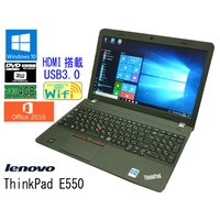 送料無料 3か月保証 中古ノートパソコン lenovo ThinkPad E550 15.6型W W...
