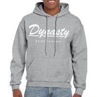 Dynasty USA製のロゴパーカー。裏起毛の素材なので肌触りもよくポカポカです。 前はPercu...
