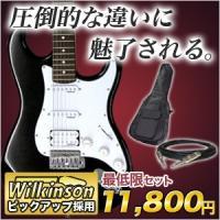 エレキギターと初心者セット/エレキギター