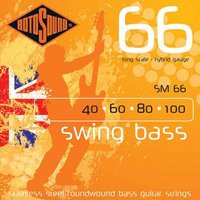 Swing Bass 66シリーズ (ステンレス ラウンドワウンド)  ロトサウンドのベース弦の中で...
