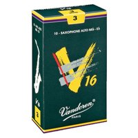 アルトサックス用V16 リード 10枚入り 硬さ:3.5  ※ゆうパケット、または定形外郵便で発送致...