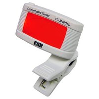 CT-2000GBUはヘッドにクリップで挟むだけでセッティング完了。高感度ピエゾピックアップを内蔵し...