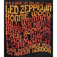 とてつもない大反響を起こした、2007年レッドツェッペリン Led Zeppelin再結成公演を記念...