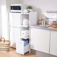 ※このページはすき間キッチンラック(A・高さ124cm・スライド棚)のみの販売です。(本体)幅32....