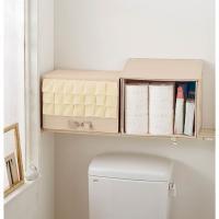 ベッド下やクローゼットはもちろん、トイレの上棚に置けばトイレットペーパーの収納にもぴったり。嬉しい2...