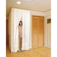 11z427 お部屋の温度を快適に。 <玄関に・廊下に・お部屋の間仕切りに>程よい透け感でお部屋のイ...