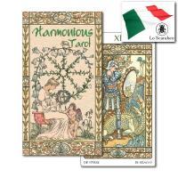 【メール便無料】 アールヌーボー調の優雅な図柄が描かれたタロットカード。カードは大アルカナ22枚と小...