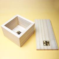 日本製 桐 米びつ 無地10kg用 1合升すりきり棒付き  高級 おしゃれ|myhome|06