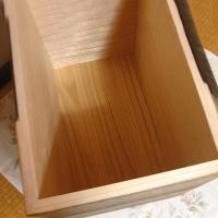 日本製 桐の米びつ 焼桐 30kg 1合升すりきり棒付き  高級 おしゃれ|myhome|04