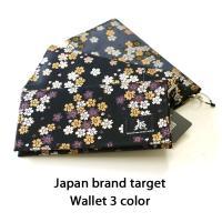 ■target 桜金襴薄型 三つ折り財布 tgs1248 新作が発売される度に人気のターゲットブラン...