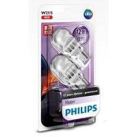 ・フィリップス  ・ヴィジョンLED T20ダブル W21/5 ・レッド ・12835REDB2 ・...
