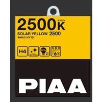 ・PIAA ハロゲンバルブ ・ソーラーイエロー ・2500K ・H4 ・HY101 ・130/120...
