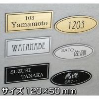ハンドメイド 表札お作りします! サイズ120×50mm オーダープレート 二層板アクリル製 サイン ネームプレート 社名 看板 部屋番号