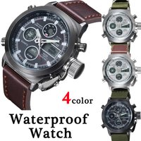 高品質で贅沢に設計された男性スポーツデジタル腕時計!  ■サイズ 文字盤直径  4.5cm ベルト長...