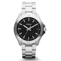 頑丈なステンレススティール製のFOSSIL フォッシル メンズウォッチ。 10気圧防水の人気腕時計で...