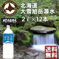 ミネラルウォーター 大雪水資源保全センター 北海道 大雪旭岳源水 2L 12本(6本入り2ケース)天然水 送料無料 産地直送 セール