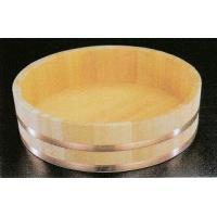 寿司桶 飯台 椹 半切 飯切  業務用 銅タガ 72cm サワラ
