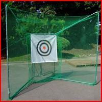 ナンエイ 据置折りたたみ式ゴルフネット GN-720型 安全性と使い易さを追求!プロ仕様のゴルフ練習...