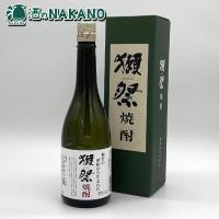 清酒「獺祭」の大吟醸酒の酒粕から造られた希少焼酎です。
