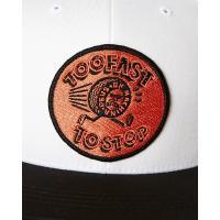 DEUS EX MACHINA TOO FAST SNAPBACK CAP デウスエクスマキナ キャップ 帽子 ブラック ホワイト メンズ レディース