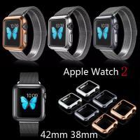 Apple Watch2 の新しいケース アップルウォッチカバー メタルバンパーケース  アップウォ...