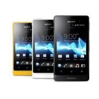【新品 未使用】SONY Xperia go ST27I ブラック Black ホワイト White  イエロー Yellow 【ソニー】【スマホ】【海外携帯】【白ロム】【SIMフリー】携帯電話