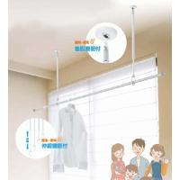 天井取付け用のおしゃれな室内物干し。 洗濯物を干す時、花粉症や火山灰・黄砂・PM2.5・放射能・天候...