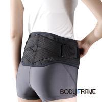 腰痛 コルセット 腰痛ベルト 腰椎ベルト 中山式 日本製 ボディフレーム腰用ハード