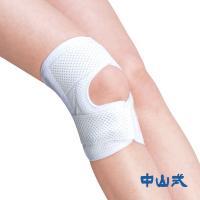 ひざ上を外側から、ひざ下を内側からベルトを巻くことでひねりの作用が働き、ひざを安定させます。さらに、...