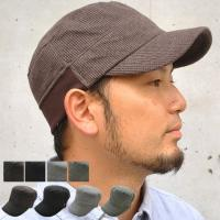 clef (クレ) ワッフル リブ スウェット ワークキャップ 帽子 大きいサイズ キャップ