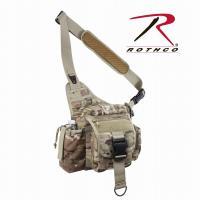 【米軍】Rothco(ロスコ) アドバンス・タクティカルバッグ(Advanced Tactical Bag)【マルチカモ】