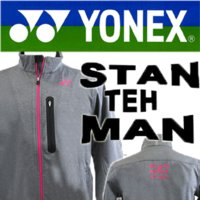 YONEX(ヨネックス) 受注会限定 ワウリンカ ウォームアップシャツ  カラー 010(グレー) ...