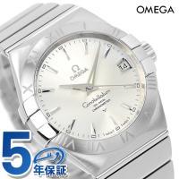 7年保証 ローン36回払まで無金利キャンペーン オメガ 腕時計 自動巻き コンステレーション クロノ...