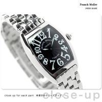 フランク・ミュラー トノー カーベックス レディース 腕時計 1752-QZ-O-BLK-BLK F...